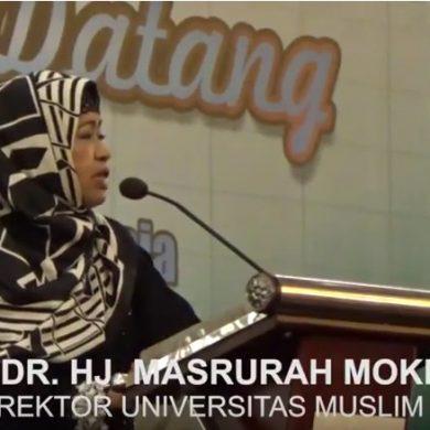 Malam Ukhuwah Lintas Generasi Fakultas Ekonomi Universitas Muslim Indonesia.