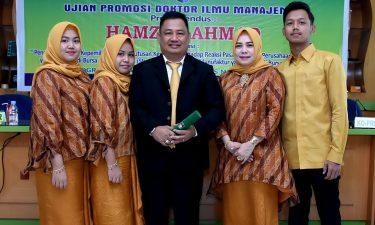 Promosi Doktor Hamzah Ahmad