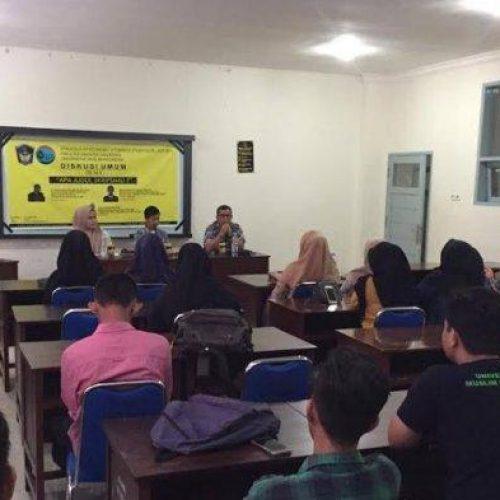 Pelatihan Membuat Skirpsi Dengan Mudah Bersama Aras Prabowo dan Darwis Lannai